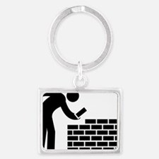 Bricklayer-AAA1 Landscape Keychain