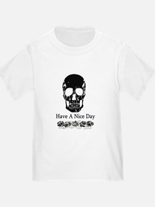 Distressed Skull Goth T