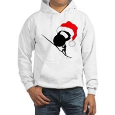 sisyphus Kettlebell Christmas Hoodie