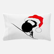 Sisyphus Kettlebell Christmas Pillow Case