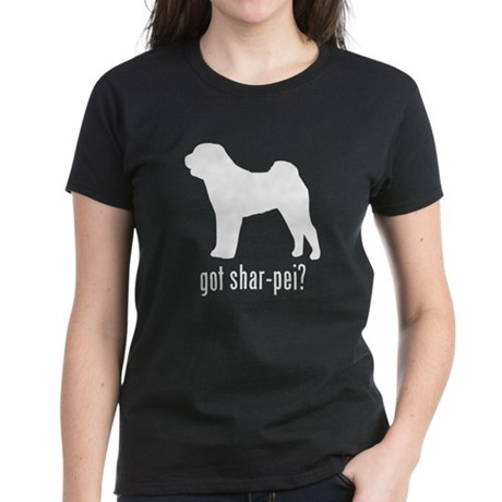 Shar-Pei Women's Dark T-Shirt