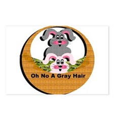Oh No A Gray Hair - Postcards (Package of 8)
