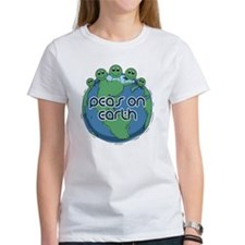 Peas (Peace) on Earth Tee