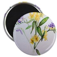 Freesias and friends Magnet