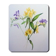 Freesias and friends Mousepad