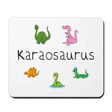 Karaosaurus Mousepad