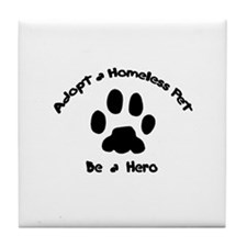 Adopt a Pet Tile Coaster