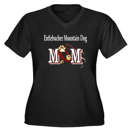 Entlebucher Mountain Dog Women's Plus Size V-Neck
