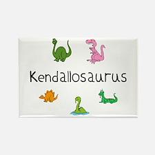 Kendallosaurus Rectangle Magnet
