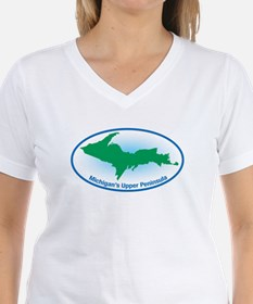 Upper Peninsula Oval Shirt