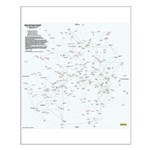 30 Light Year Star Map - Small
