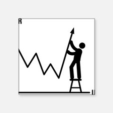 """Forex-Stock-Trader-AAA1 Square Sticker 3"""" x 3"""""""