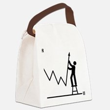Forex-Stock-Trader-AAA1 Canvas Lunch Bag