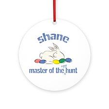 Easter Egg Hunt - Shane Ornament (Round)
