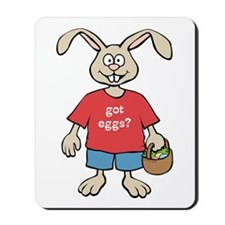 Funny Easter Rabbit Mousepad