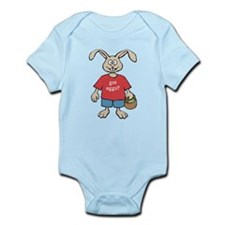 Funny Easter Rabbit Infant Bodysuit