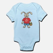 Funny Easter Rabbit Infant Bodysuit