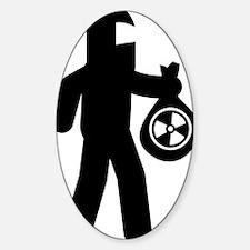Hazardous-Materials-Remover-AAA1 Sticker (Oval)