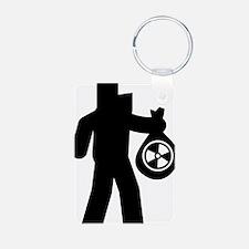 Hazardous-Materials-Remove Keychains