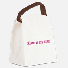 Klaus is my king Canvas Lunch Bag