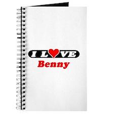 I Love Benny Journal