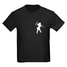 Cupid Meets Reality Kids Black Breast Print Tee
