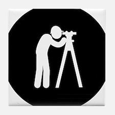 Land-Surveyor-AAB1 Tile Coaster