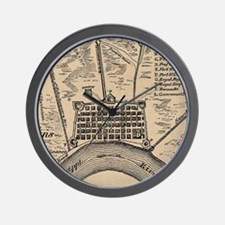Vintage Map of New Orleans Louisiana (1 Wall Clock