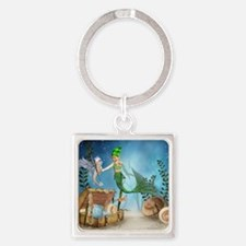 lm4_60_curtains_834_H_F Square Keychain