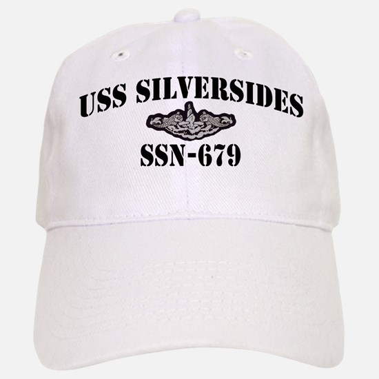 USS SILVERSIDES Baseball Baseball Cap