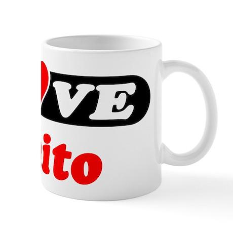 I Love Benito Mug