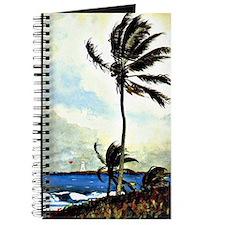 Winslow Homer - Palm Tree, Nassau, Homer l Journal