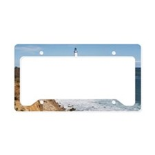 USA, New York, Long Island, M License Plate Holder