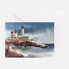Nubble Light House Greeting Cards (Pk of 10)