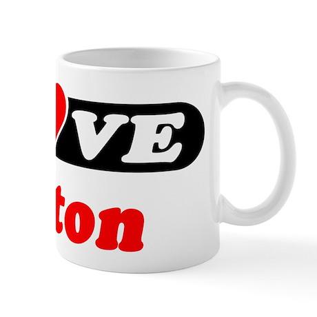 I Love Barton Mug