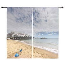 "Bucket and spade on sand 60"" Curtains"