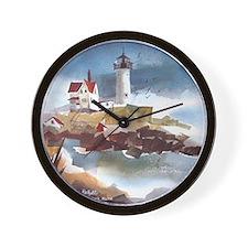 Nubble Light House Wall Clock