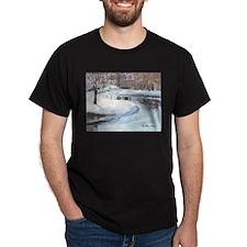 Snowy Road by Elsie Batzell T-Shirt