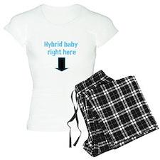 Hybrid baby right here Pajamas