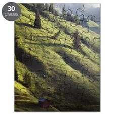 Hut in valley Puzzle