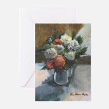 Flowers (#2) by Elsie Batzell Greeting Cards (Pack