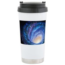 Artwork of a galaxy as  Travel Mug