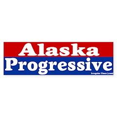 Alaska Progressive Bumper Bumper Sticker