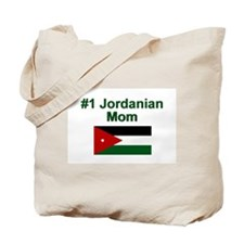 Jordanian #1 Mom Tote Bag