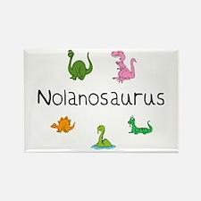Nolanosaurus Rectangle Magnet