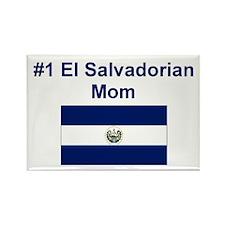 El Salvadorian #1 Mom Rectangle Magnet