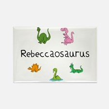 Rebeccaosaurus Rectangle Magnet