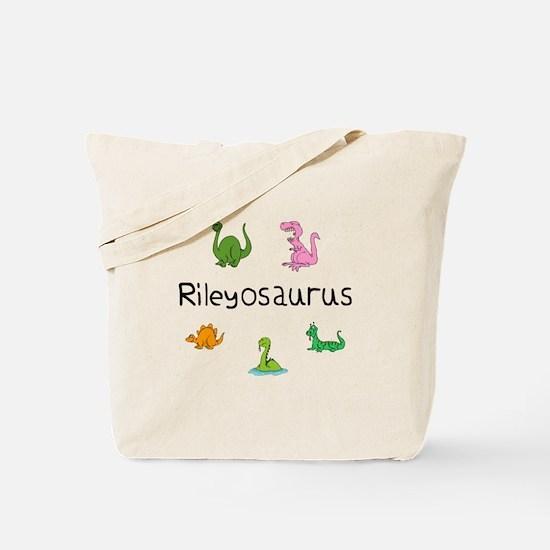 Rileyosaurus Tote Bag