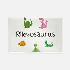 Rileyosaurus Rectangle Magnet