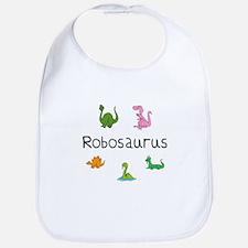 Robosaurus Bib